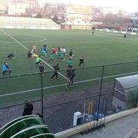 Photo taken at Metin Oktay Stadı by Nurhan K. on 1/9/2014