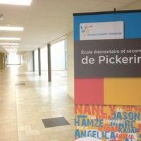 Photo taken at Ecole Elementaire Et Secondaire De Pickering by Serge P. on 10/5/2013