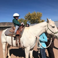 Photo taken at Stables at Tamaya by Morgan F. on 10/28/2017