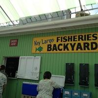 Photo taken at Key Largo Fisheries by Jesus D. on 3/9/2013