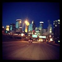 Photo taken at Downtown Minneapolis by Chris A. on 1/24/2013