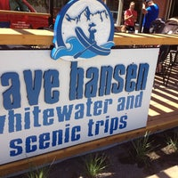 Photo taken at Dave Hansen Whitewater & Scenic River Trips by Jonathan C. on 7/1/2013