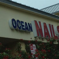 Photo taken at Ocean Nails by Fllyer F. on 4/13/2013