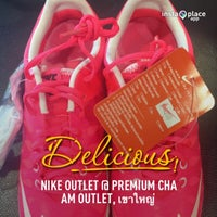 Photo taken at Nike Outlet @ Premium Cha Am Outlet by Cartoon P. on 5/6/2013