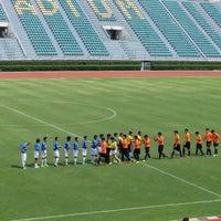 Photo taken at Supachalasai Stadium by ρσя on 3/30/2017