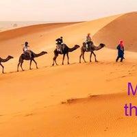 Photo taken at Merzouga by Camel Trip M. on 6/6/2016