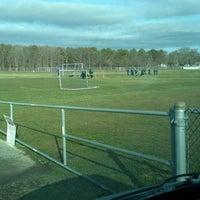 Photo taken at Baymen Soccer Fields by Tony on 3/17/2013