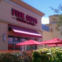 Photo taken at Five Guys by Gonz G. on 5/14/2013
