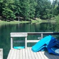 Photo taken at Lake Hero by Lavana D. on 7/28/2013