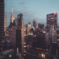 Photo taken at Fairfield Inn & Suites by Marriott New York Manhattan/Times Square by Katie D. on 5/2/2015