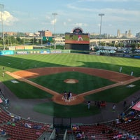 Photo taken at Coca-Cola Field by Pat M. on 7/21/2013