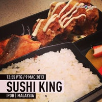 Photo taken at Sushi King by 世德 张. on 3/9/2013