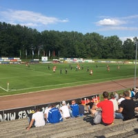 Photo taken at Kurt-Bürger Stadion by Sebastian L. on 7/21/2017