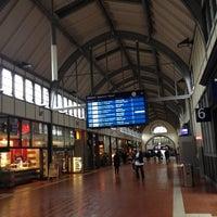 Photo taken at Lübeck Hauptbahnhof by Sebastian L. on 10/5/2012