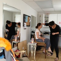 Photo taken at denise's salon by Rob L. on 6/14/2013