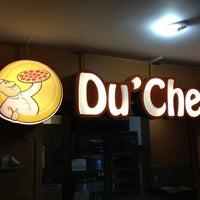 Photo taken at Du' Cheff Pizzaria Express by DavideAline D. on 3/30/2013