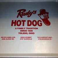 Photo taken at Rudy's Hot Dog by Don S. on 2/16/2013