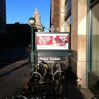 Photo taken at MTA Subway - 8th St/NYU (R/W) by Michael W. on 1/23/2013