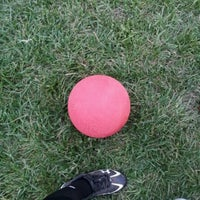 Photo taken at Patterson Park Kickball by Chuck R. on 10/10/2012