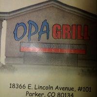 Foto tomada en Opa Grill • Greek & American Restaurant por Jeni 'Pixie' M. el 10/13/2012