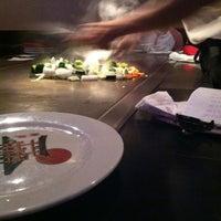 Photo taken at Kobe Japanese Steakhouse & Sushi Bar by Nikki on 9/28/2012