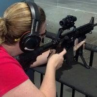 Photo taken at Ted's Shooting Range by Jodi B. on 6/6/2013