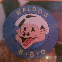 Photo taken at Waldo's BBQ by Jodi B. on 4/5/2014