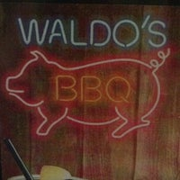 Photo taken at Waldo's BBQ by Jodi B. on 4/16/2013