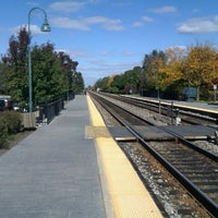 Photo taken at Metra - Glenview by Tom D. on 10/6/2012
