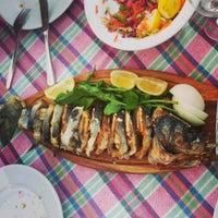 5/18/2013 tarihinde Dilara A.ziyaretçi tarafından Tirilye Balık Restorant'de çekilen fotoğraf