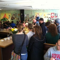 Photo taken at Waveland Cafe by John P. on 5/12/2013