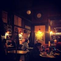 Photo taken at Café Hawelka by Lukkalk on 12/13/2012