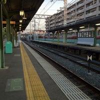 Photo taken at Fukakusa Station (KH33) by 緋色 有. on 4/28/2013