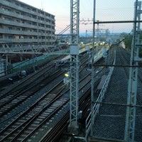 Photo taken at Fukakusa Station (KH33) by 緋色 有. on 4/27/2013