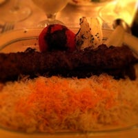 Photo taken at Ravagh Persian Grill by Jane K. on 9/26/2012
