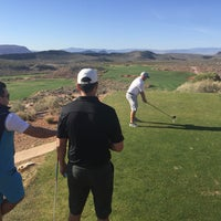 Photo taken at Coral Canyon Golf Course by Chris K. on 3/4/2016