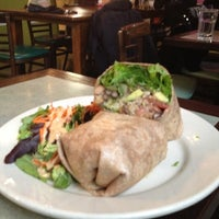Photo taken at Jivamuktea Café by Melissa K. on 11/7/2012