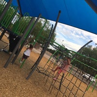 Photo taken at Gene Autry Park by Josh A. on 7/30/2017