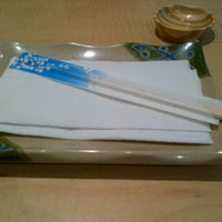 Photo taken at Nobu Sushi by Cesinha P. on 1/20/2013