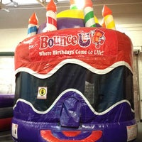 Photo taken at Bounce U by Marie Antoinette on 7/20/2014