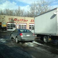 Photo taken at The Muffler Shop II Inc. by Dave C. on 2/1/2013