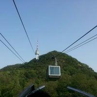Photo taken at Namsan Cable Car by Damian K. on 5/6/2012