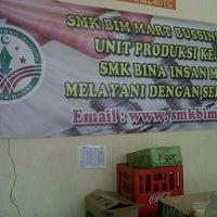 Photo taken at SMK Bina Insan Mandiri by Ikhwan I. on 8/19/2013