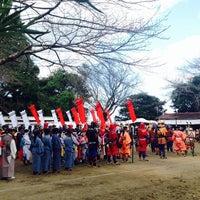 Photo taken at 諏訪神社 by kajiyaan on 11/3/2014
