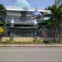 Photo taken at Masjid At-Taqwa, HR MUHAMMAD by Ari A. on 8/3/2014
