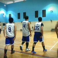 Photo taken at BNSS Basketball Court by Jamjam ;. on 11/1/2014