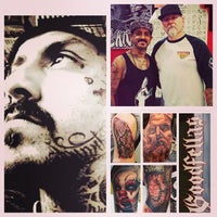 Photo taken at The Original Goodfellas Tattoo by Adam H. on 11/25/2013