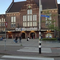 Photo taken at Maastricht Railway Station by cc e. on 6/2/2013