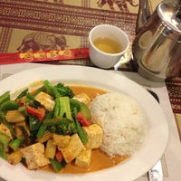 Photo taken at Nu Thai Bistro by Lisa Rose S. on 4/18/2013