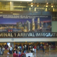 Photo taken at Terminal 1 Arrival Hall by Satria A. on 1/27/2013